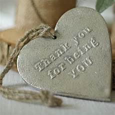 Thank You For The Visit Silver Heart Thank You For Being You Gift The Wedding Of