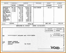 Pay Stub Sample 5 Free Printable Pay Stubs Simple Salary Slip