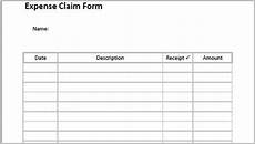 Employee Expenses Claim Form Template Claim Form Template