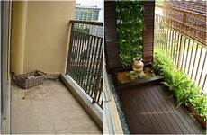 before and after condo balconyh condosky realty