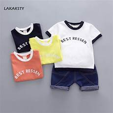 Toddler Clothes For Boys 4t Aliexpress Buy 1 4t Children Boys Clothing Sets 2pcs