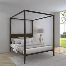 letto a baldacchino legno letto a baldacchino con testata in legno