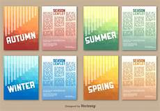 Leaflet Template Word Free Seasonal Leaflet Template Download Free Vectors Clipart