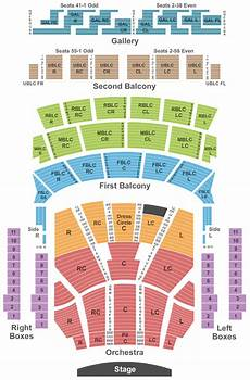 Stern Theater Seating Chart Auditorium Theatre Tickets Chicago Il Event Tickets Center