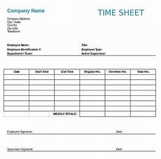 Example Of Timesheet For Employee 23 Employee Timesheet Templates Free Sample Example