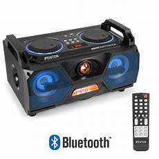 Boombox Led Lights Portable Stereo Boombox Bluetooth Speaker Usb Built In Led