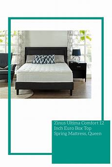 zinus ultima comfort 12 inch box top mattress