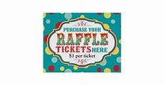 Raffle Ticket Poster Ideas Carnival Or Circus Raffle Ticket Booth Sign Poster Zazzle