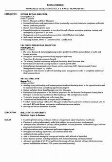 High End Retail Resume Retail Director Resume Samples Velvet Jobs