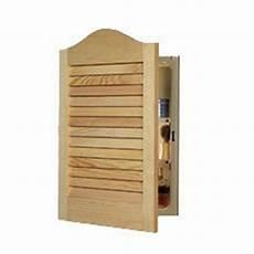 605adj basic louver unfinished wood single recessed