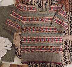 knitting now and then a feast of fair isle