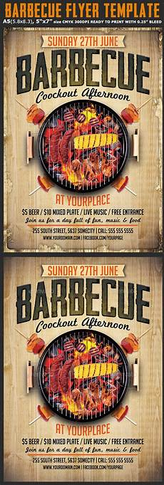 Chicken Bbq Flyer Template Barbecue Flyer Template By Hotpin Graphicriver