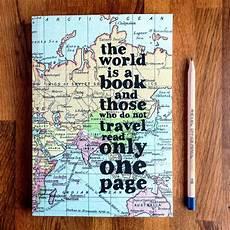 The Word Journal Travel Journal Travel Gift Travelers Notebook By Bookishlyuk