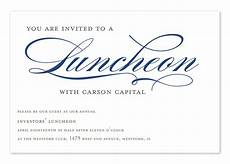 Lunch Invitation Message Invited To Lunch Corporate Invitations By Invitation