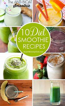 diet smoothie recipes to help you slim for summer