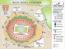 Rose Bowl Soccer Seating Chart Rose Bowl Stadium Maps La Galaxy