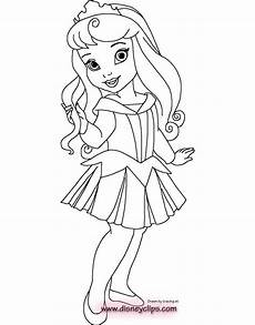 baby disney princess coloring pages at getcolorings