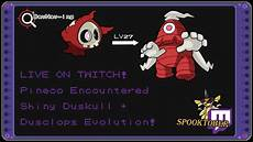 Pineco Evolution Chart Spooktober Live On Twitch Pineco Enountered Shiny