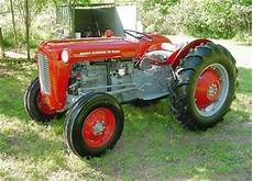 Antique Tractors 1961 Massey Ferguson 35 Diesel Fe