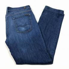 7 For All Mankind Men S Jeans Size Chart 7 For All Mankind Men S Standard Fit Jeans Size 34 31