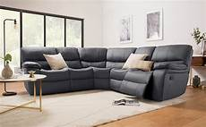 Gray Reclining Sectional Sofa 3d Image by Beaumont Grey Leather Recliner Corner Sofa Furniture Choice