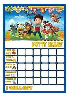 Free Printable Potty Chart Paw Patrol Paw Patrol Potty Toilet Training Reward Chart Free Stars