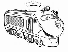 koko from chuggington coloring page print