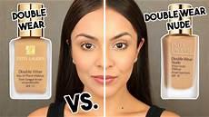 Maquillaje Estee Lauder Double Wear Light Estee Lauder Double Wear Water Fresh Foundation Vs