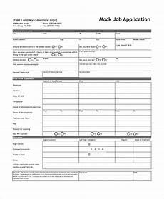 Sample Job Application Pdf Free 7 Sample Job Application Forms In Ms Word Pdf