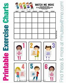Free Exercise Chart Workout Accountability Chart Eoua Blog