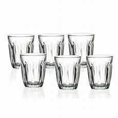 bicchieri duralex 8031600 duralex confezione 6 bicchieri cl 22 provence