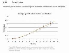 Silver Perch Growth Chart Growing Barramundi For Aquaponics Ecofilms