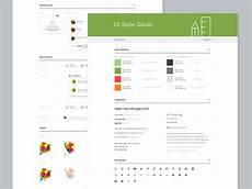 Style Guide Examples Inspirational Examples Of Ui Style Guides Idevie