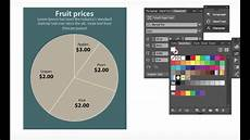 Adobe Xd Pie Chart How To Make A Simple Pie Chart In Adobe Illustrator Cc