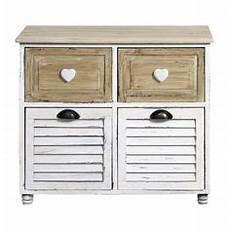 cassettiera piccola mobile bagno 4 cassetti bianco legno