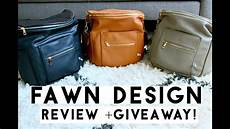 Fawn Designs Fawn Design Diaper Bag Review Giveaway Closed Youtube