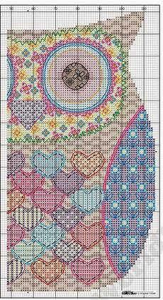 Free Needlepoint Charts Free Owl Cross Stitch Chart
