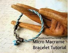 diy micro macrame tutorial