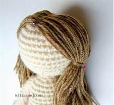 how to crochet dolls hair easy crochet dolls doll