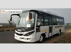 Luxury AC SML Mini Coach 28 seater   Patra Tours And