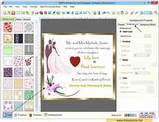 Program To Make Invitations Free Wedding Card Designing Software Design Beautiful