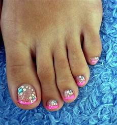 French Tip Toe Designs Nail Designs Long French Tip Toenails Design For Summer