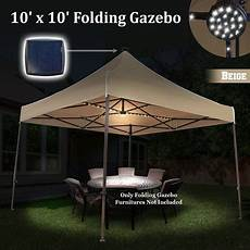 Camping Canopy Led Lights Sunrise 10 X10 Outdoor Patio Instant Pop Up Canopy Tent