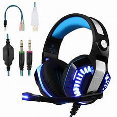 Gaming Headphones With Lights Bluefire Stereo Gaming Headset For Ps4 Xbox One Headphones