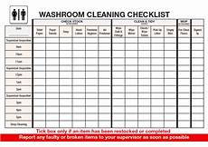 Bathroom Cleaning Checklist Template Advanced Washroom Cleaning Checklist Download This