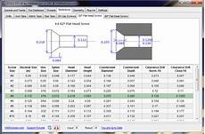 Screw Counterbore Size Chart Download Cnc Speed And Feed Calculator Hsmadvisor