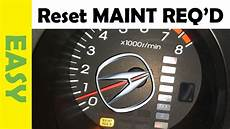 2005 Acura Rsx Maintenance Required Light Reset Maintenance Required Light Acura Tl 2001 2006 Mdx