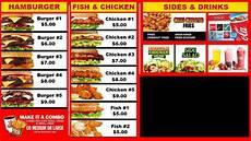 Restaurant Menu Samples Digital Signage Sample Restaurant Digital Menu Board With