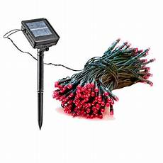 Solar Christmas Lights Walmart 4 Pack 39 Foot Solar Outdoor Christmas Holiday String