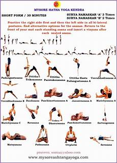 Vinyasa Yoga Poses Chart Vinyasa Yoga Pose Chart Kayaworkout Co